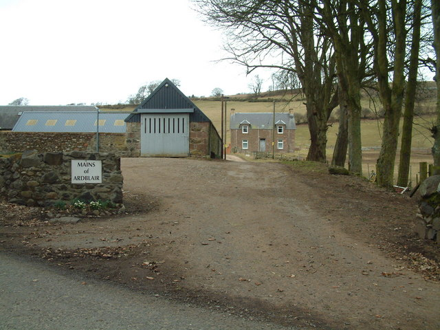 Mains of Ardblair farm