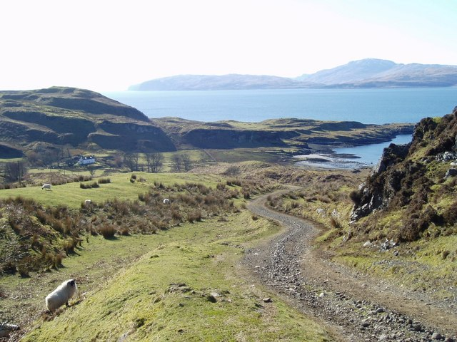 Road to Barnabuck, Kerrera