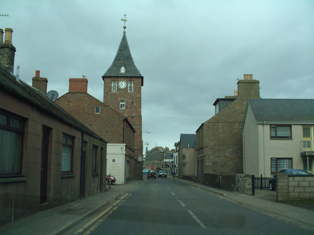 Clock Tower in Coupar Angus