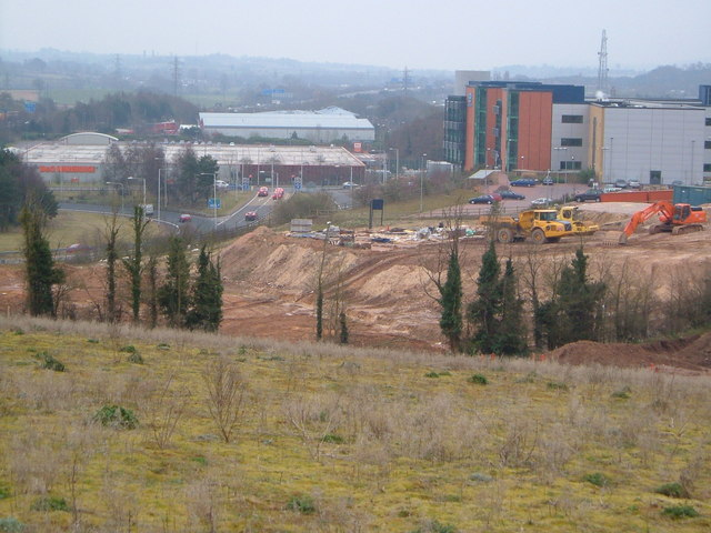 Exeter Business Park from Gipsy Hill