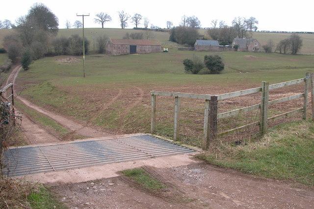 Entrance to Glasshouse Farm