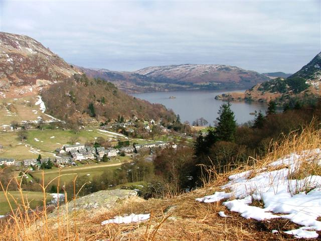 Glenridding Village From Keldas