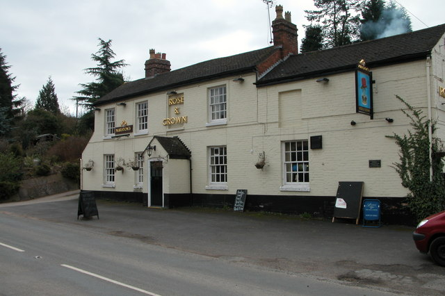 The Rose and Crown, Shrawley