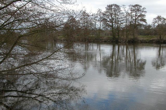 The River Severn, Shrawley