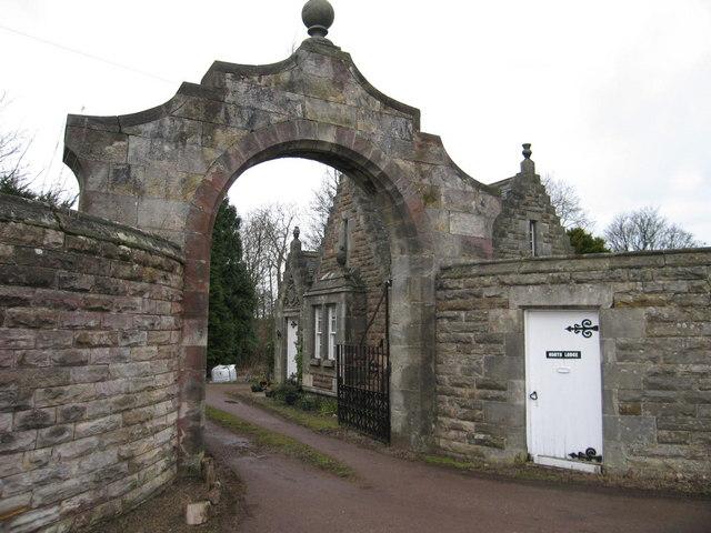 North Lodge to Balgone House, near North Berwick