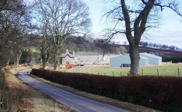 Lurg Farm near Muthill