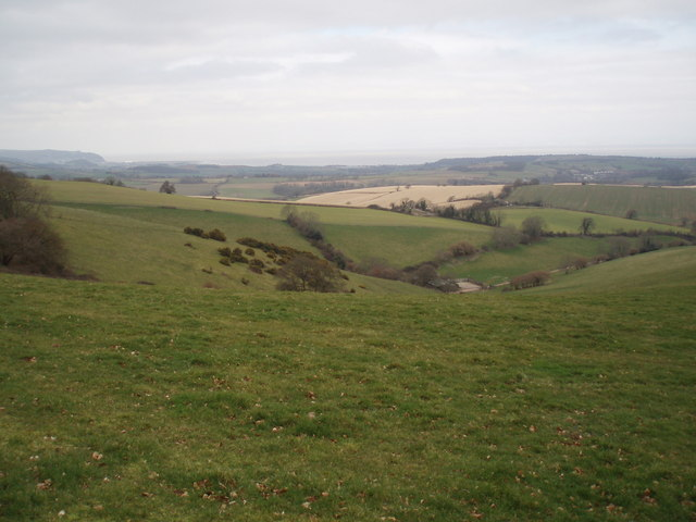 Looking north west towards Minehead.