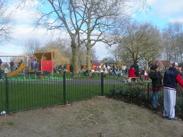 Finsbury Park, Children's Recreation Area