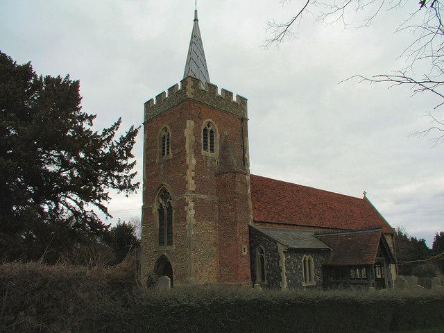 St. Mary's Church, Gilston