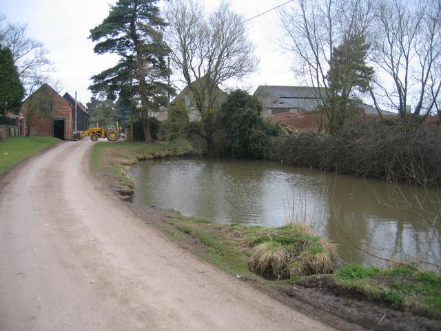 Pond, Moreton Underhill