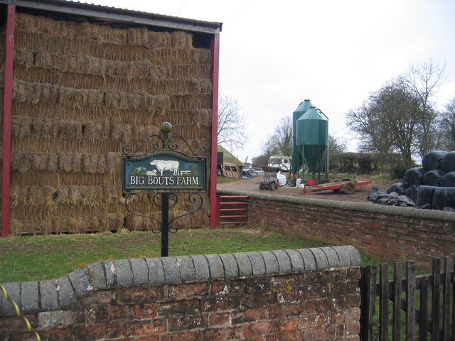 Big Bouts Farm sign