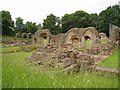 SP0529 : Hailes Abbey by John Turner