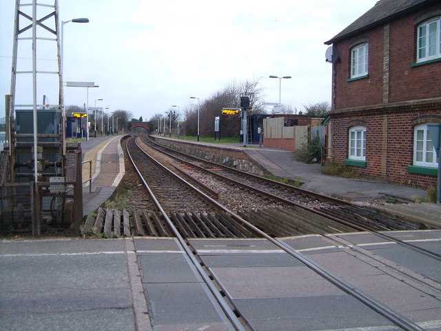 Level crossing at Pinhoe station