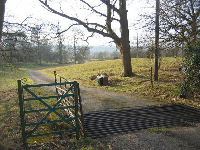 Priory Farm driveway