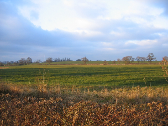View towards King's Coughton