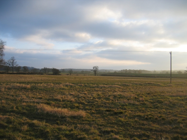 View south from Cold Comfort Lane