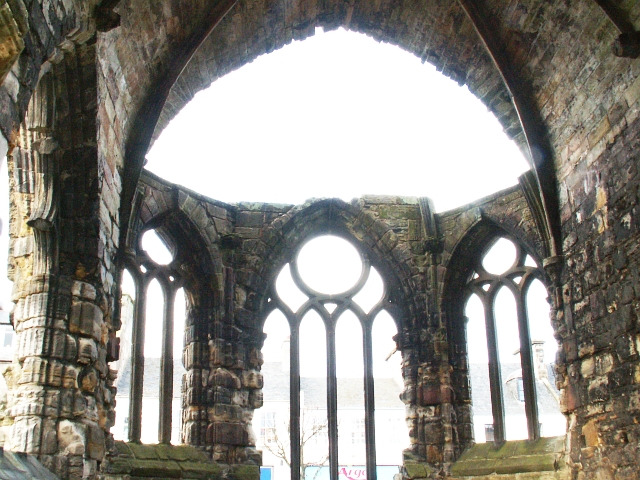 Black Friars Chapel, St Andrews. Detail