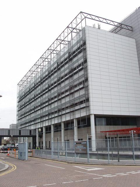 Computer centre, Coriander Avenue. South Bromley