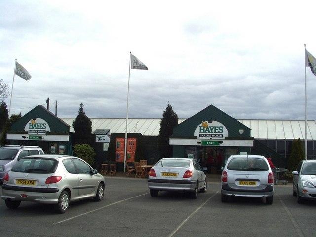 Hayes Garden Centre, Scholes