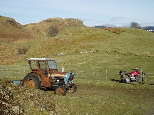 Farm vehicles old and new
