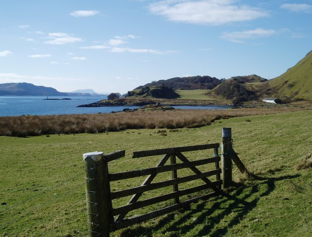 East coast of Kerrera