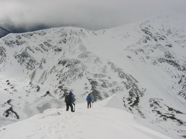 West Ridge, Sgurr Eilde Mor.