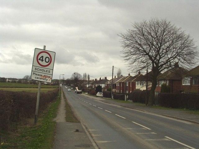 Leeds Road, Scholes