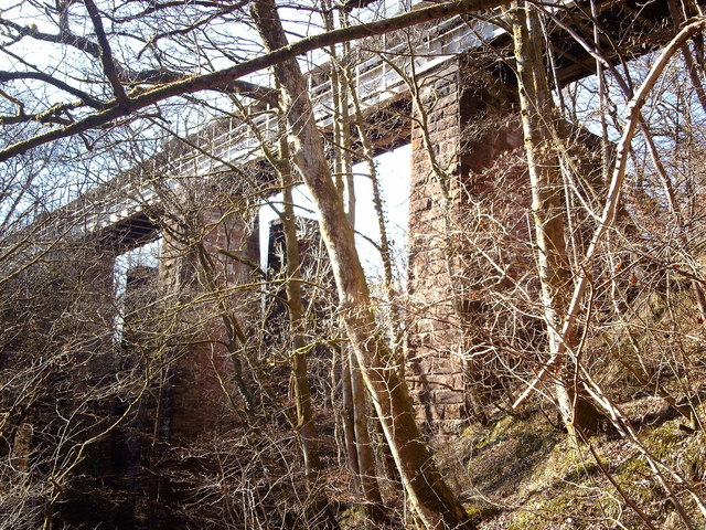 Daff Glen Railway Viaduct