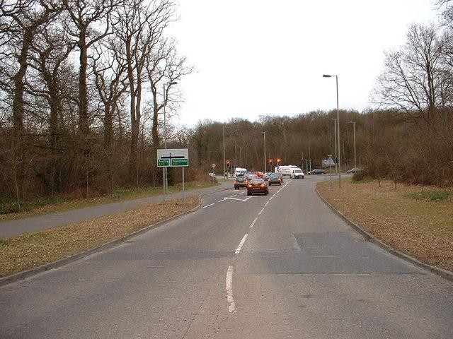 Four Lane Ends, Chineham
