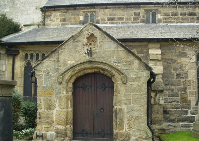 West Door, All Saints Church, Barwick-in-Elmet