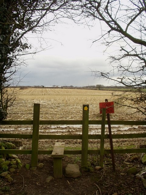 Stile, Kiddal Lane End