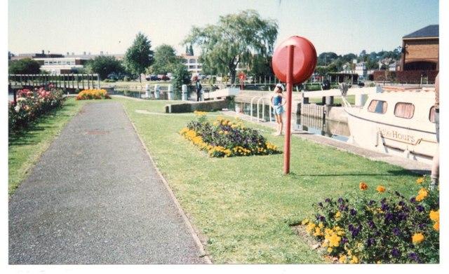 Ware Lock. Hertfordshire.