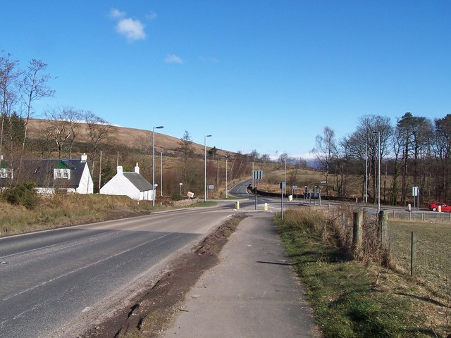 Helensburgh - Loch Lomond Road, Roundabout
