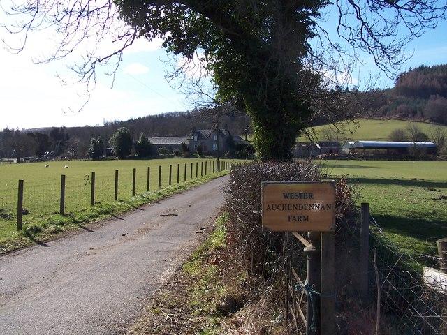 Wester Auchendennan Farm