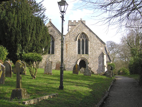 Shute parish church