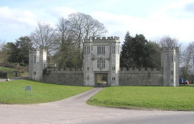 Entrance to Shute Barton