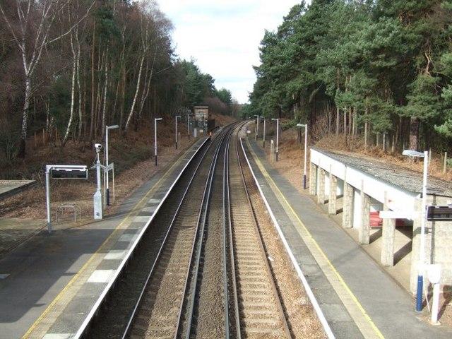 Longcross Station