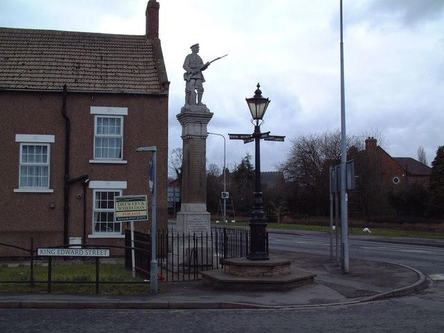 War Memorial, Belton