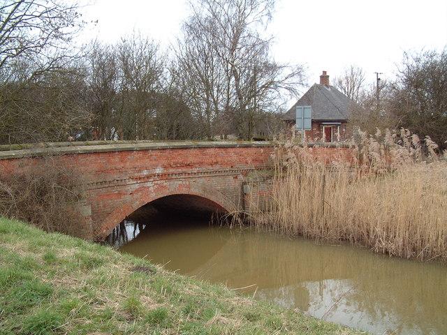 Bridge over North Engine Drain
