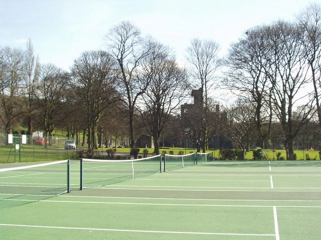 Tennis Courts, Kirkstall Abbey