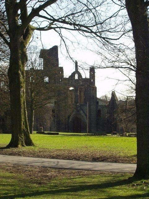 Kirkstall Abbey grounds