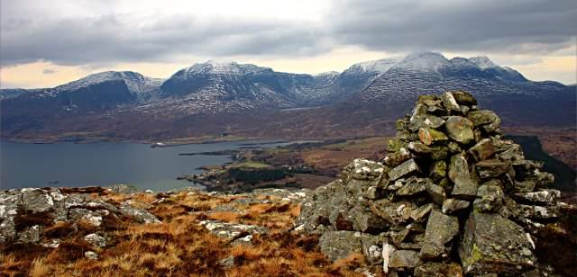 An Sgurr - summit cairn