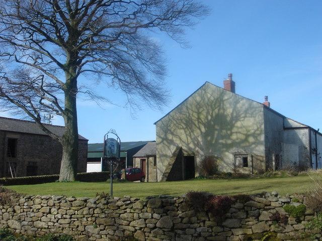 Huggart's farmhouse