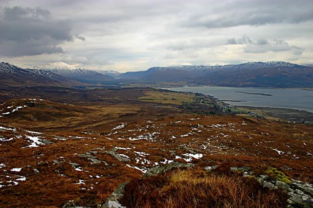 Hill near Loch a' Choire Leith