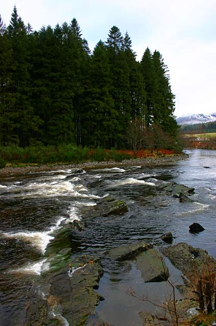 River Orchy near Glen Orchy Farm