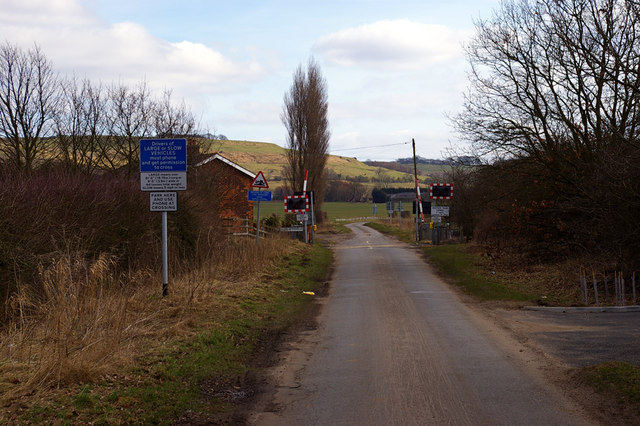 Claxby Gatehouse Level Crossing