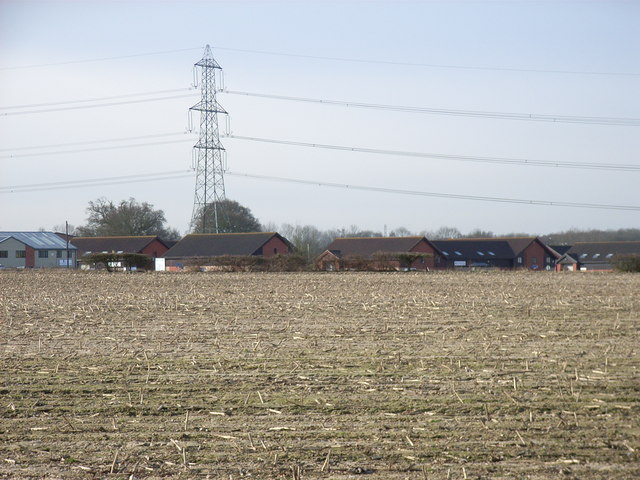 Farmland at Murrell Green