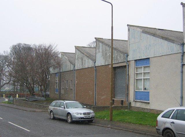 Factory, Heugh Road.