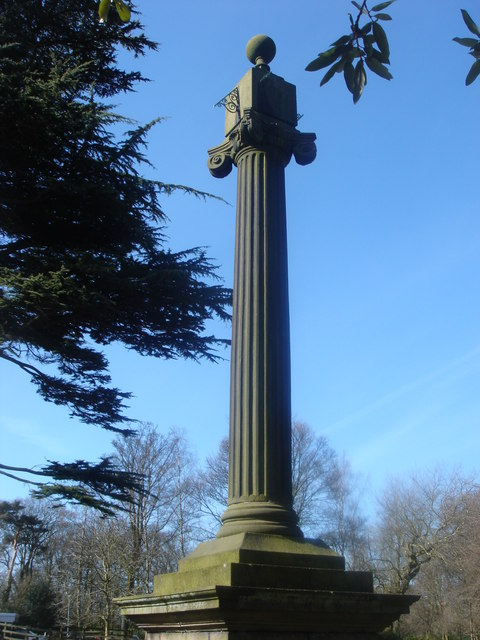 Sundial at Cuerden Hall