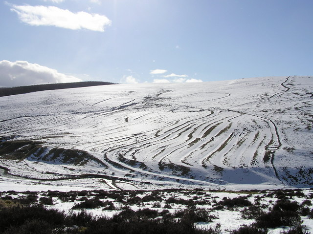 Snow over Craig Hill